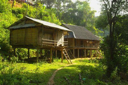 Thai ethnic house Stock Photo