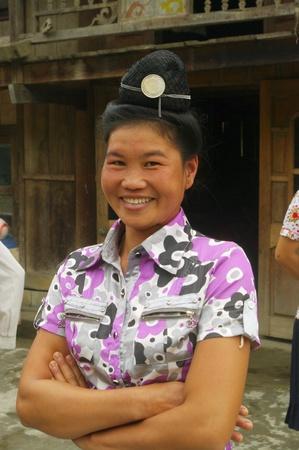 Portrait of a Thai woman