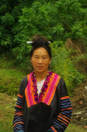 Hmong woman  Stock Photo