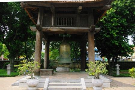 Bronze bell kiosk