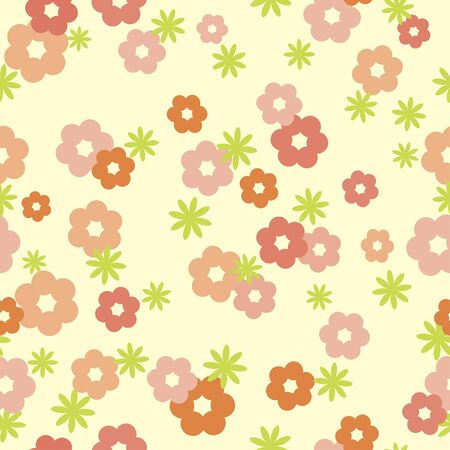 tender floral seamless texture Stock Vector - 9857276