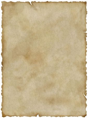 Blank old paper (with clipping path)