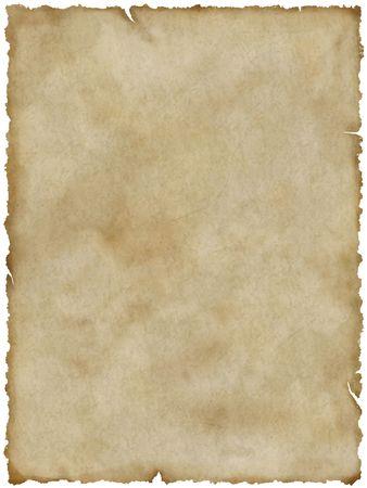 Le vieux papier blanc (avec un masque vectoriel)