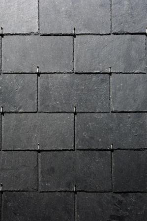 slates on a roof