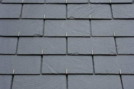 ardoises sur un toit