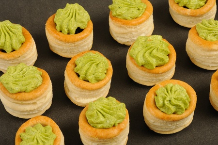 regionally: Bourgogne snails in puff pastry