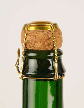 French cider bottle photo
