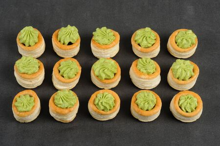 regionally: French gastronomy, Bourgogne snails in puff pastry