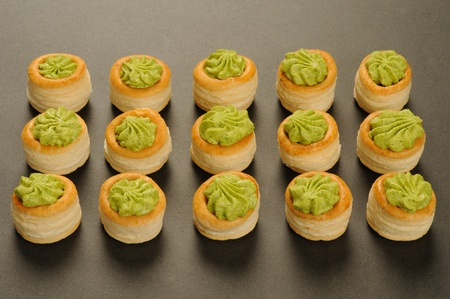 bourgogne: French gastronomy, Bourgogne snails in puff pastry
