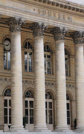 France, la bourse de Paris Banque d'images