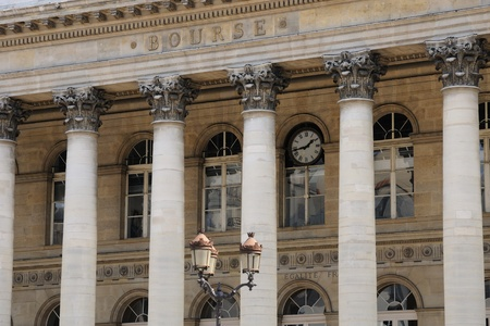 France, stock exchange of Paris
