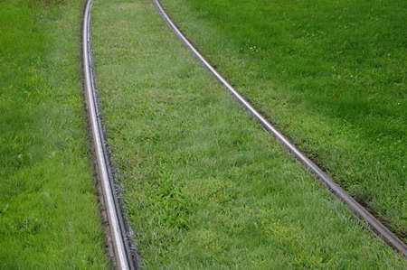 tramway: France, railway of Strasbourg tramway Stock Photo