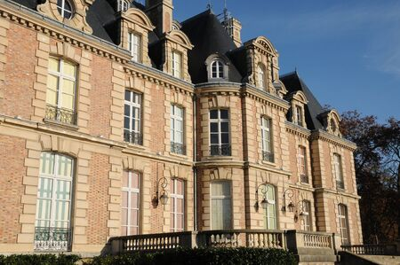 les: France, Becheville castle in Les Mureaux