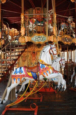 carousel horse: French old carousel
