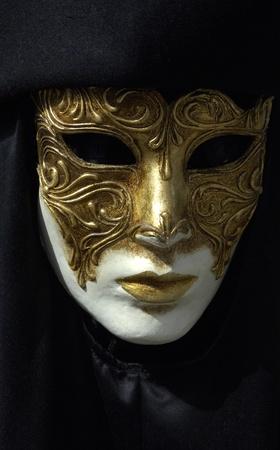 ritual: mask of Venice carnival Stock Photo