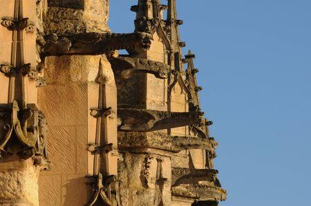 France, church Saint Martin of Triel