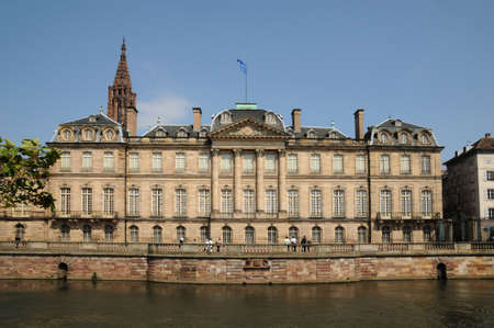 palais: France, Le Palais Rohan in Strasbourg Stock Photo