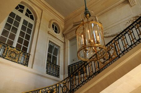 petit: Versailles, staircase in Le Petit Trianon Editorial
