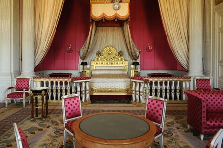Versailles, a bedroom in Le Grand Trianon