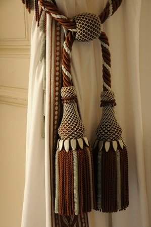 curtain and tassel in Versailles Palace photo