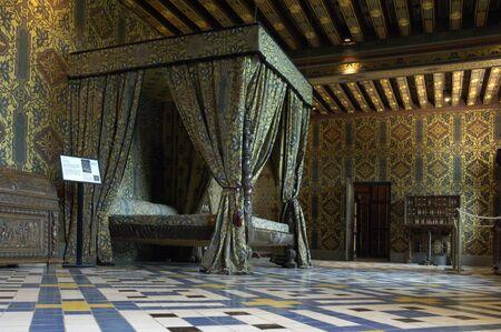 castle interior: interior of the castle of Blois