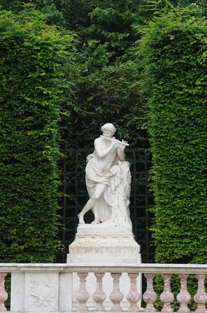 statue in the park of Versailles Palace