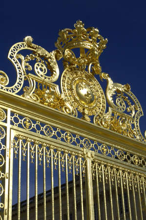 France, gate of Versailles palace