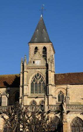 saint martin: France, church Saint Martin of Triel