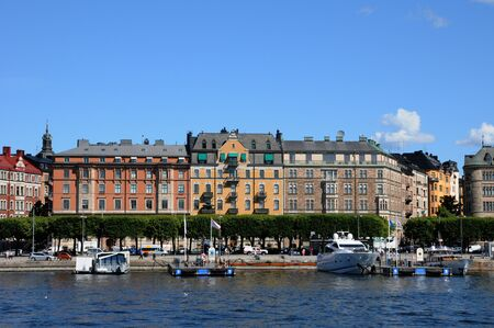 Sweden, the city of Stockholm and the Baltic sea