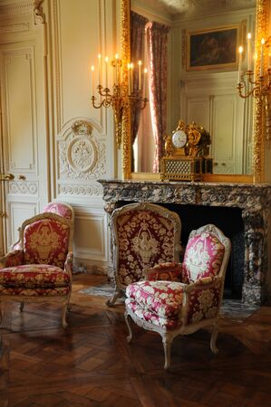 Versailles, a lounge in the Petit Trianon