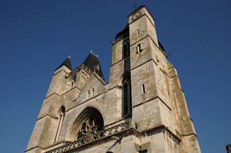 Normandie, Notre Dame church in Les Andelys photo
