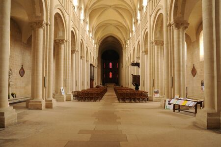 Caen,  the Abbaye aux Dames in Normandie