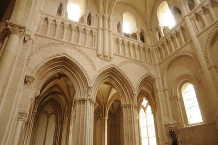 abbaye: Caen,  the Abbaye aux Dames in Normandie