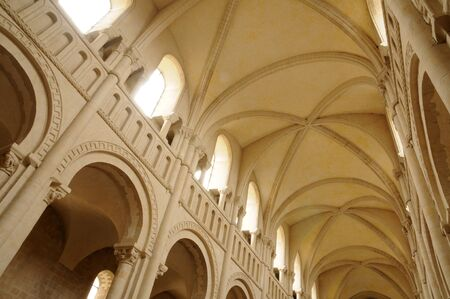 aux: Caen,  the Abbaye aux Dames in Normandie