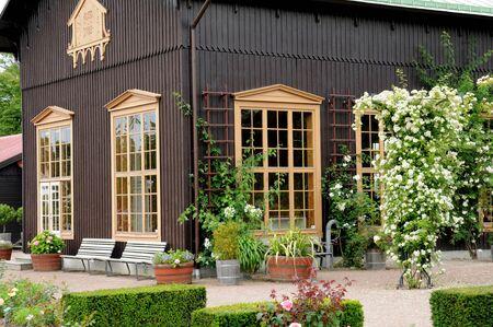 the garden of Tradgardsforeningen in Gothenburg