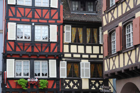 France, Alsace, renaissance house in Colmar Stock Photo - 12279675