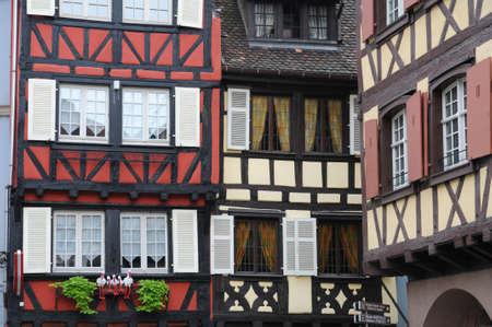 France, Alsace, renaissance house in Colmar Stock Photo - 12279675