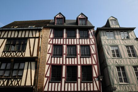 half timbered house: Normandy, half timbered house in Rouen