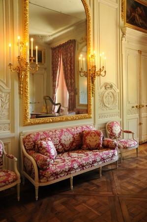 petit: Versailles, a chandelier in Le Petit Trianon