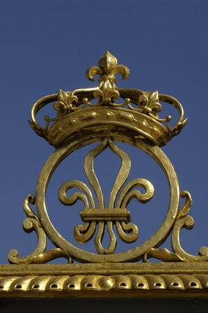 France, gate of Versailles palace photo