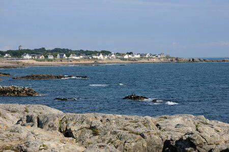 France, La Cote Sauvage in Batz sur Mer Stock Photo - 12532698