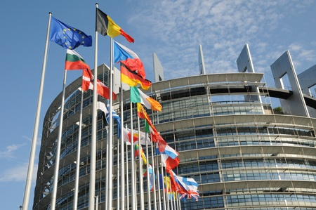 France, the European Parliament of Strasbourg