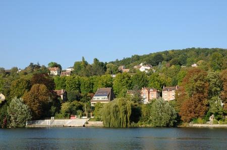 France, the city of Triel sur Seine Stock Photo - 12521024