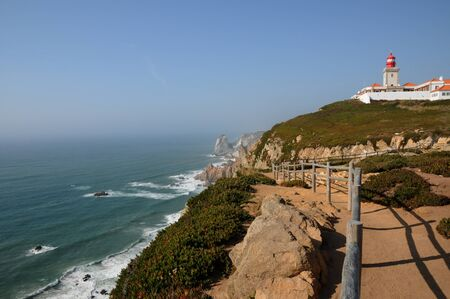 roca: Portugal, Sintra, lighthouse of Cabo Da Roca