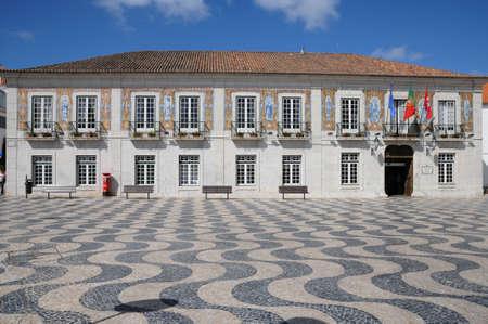 Portugal, und die Stadt Hal squarel von Cascais
