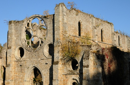 vaux: France, Yvelines,  les Vaux de Cernay abbey Editorial