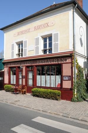 van gogh: France, Auberge Ravoux in Auvers sur Oise where Van Gogh live Editorial