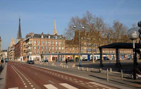 marc: France, the Saint Marc square in Rouen