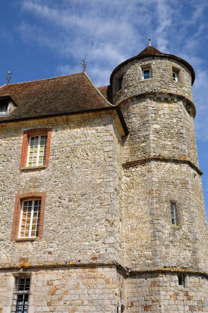 France, the castle of Vascoeuil in Normandy Stock Photo - 12617393