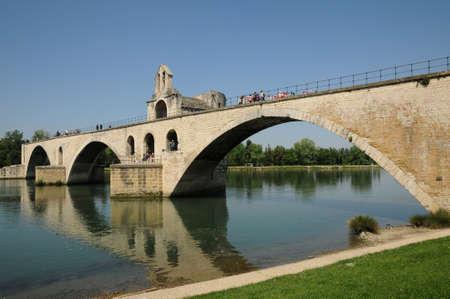 France, Le Pont d Avignon en Provence